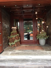 Rested so well at the lovely Chestnut Hill Hotel